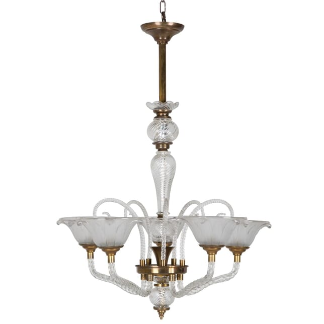 French Art Deco Chandelier LC213863