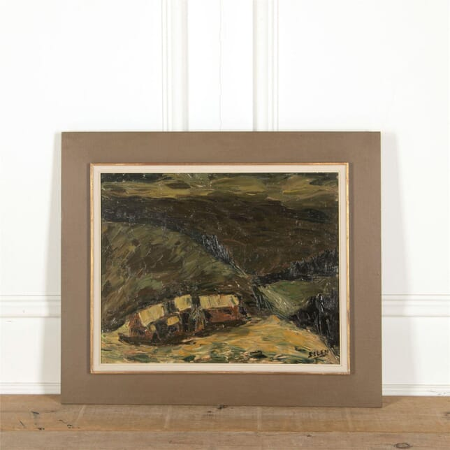 Impasto Oil on Canvas WD307331