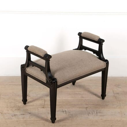French Ebonised Stool ST4861482