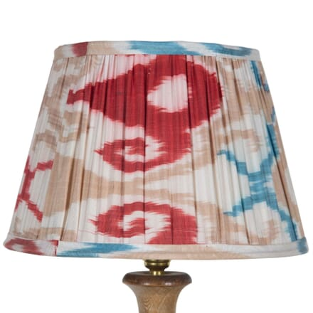 30cm Red and Blue Silk Lampshade LS6657492