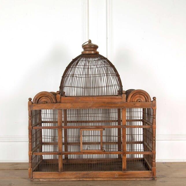Victorian Wooden Bird Cage DA138298