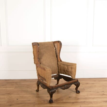 Walnut Wingback Gainsborough Armchair CH478825