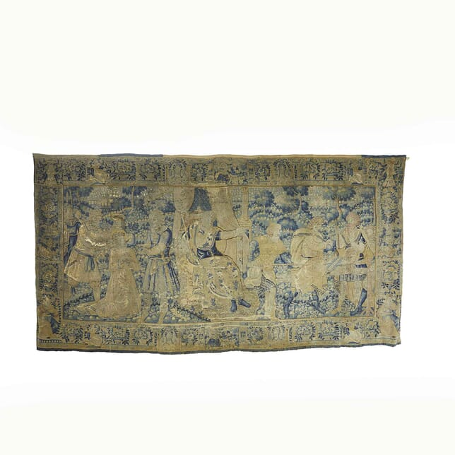 Large 16th Century Flemish Tapestry WD067734